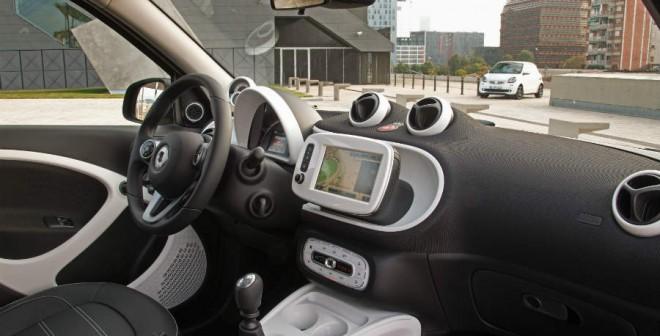 Así es el interior de la nueva generación de Smart.