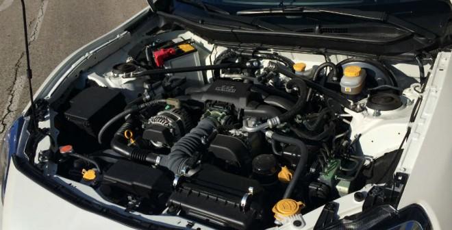 Los 200 CV del motor del Subaru BRZ dan la sensación de quedarse algo escasos en algunos momentos.