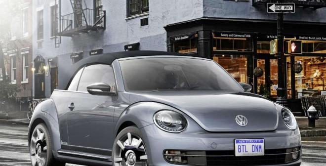 Volkswagen Beetle Cabriolet Denim Concept.