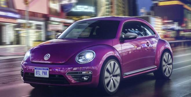 Volkswagen Beetle Pink Edition.