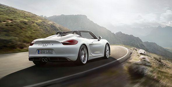 Nuevo Porsche Boxster Spyder 2015 en el Salón de Nueva York