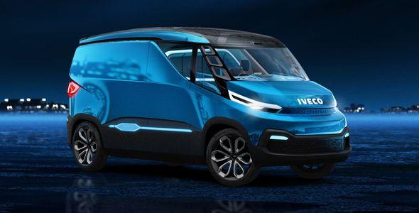 Iveco Vision, el vehículo comercial del futuro