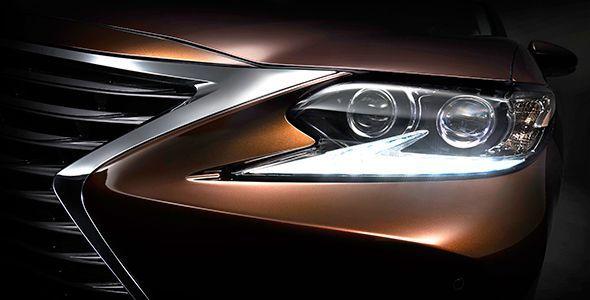Nuevo Lexus ES en el Salón de Shangai 2015