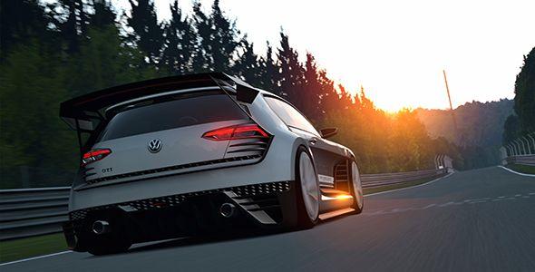 Nuevo VW GTi Supersport Vision Gran Turismo… para Play Station