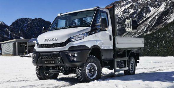 Iveco Daily 4×4: el camión todoterreno