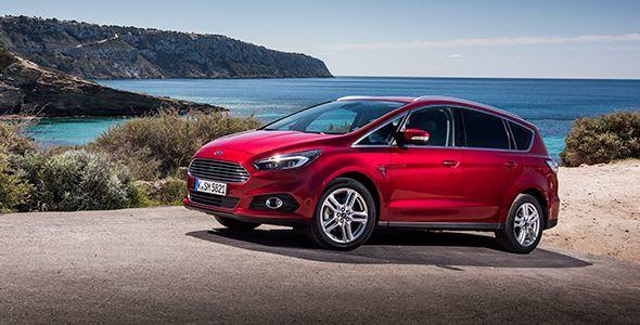 Presentación y prueba del nuevo Ford S-Max 2015