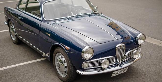Alfa Romeo Giulia Sprint 1960, La Coruña, Daniel Milnes