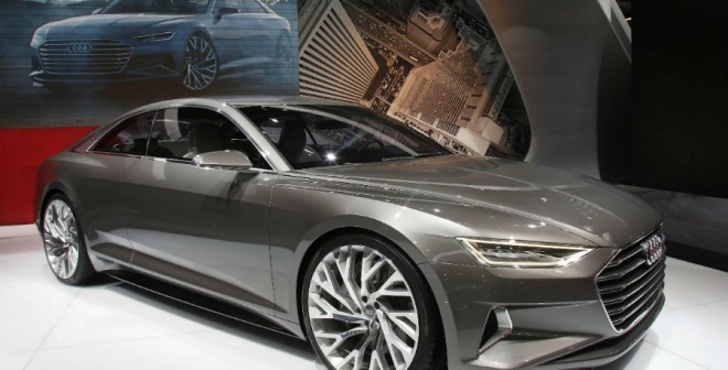 El Audi Prologue Concept anticipa el futuro de la marca alemana en el Salón de Barcelona.