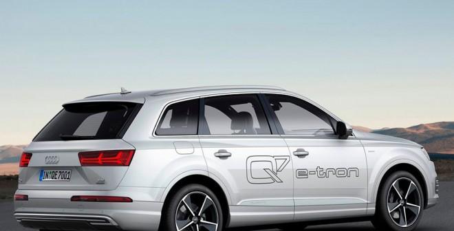 Audi Q7 híbrido enchufable