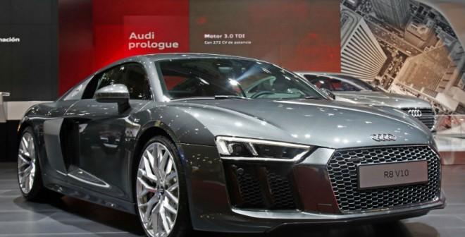 El Audi R8 es la joya de la corona de la marca de los cuatro aros.