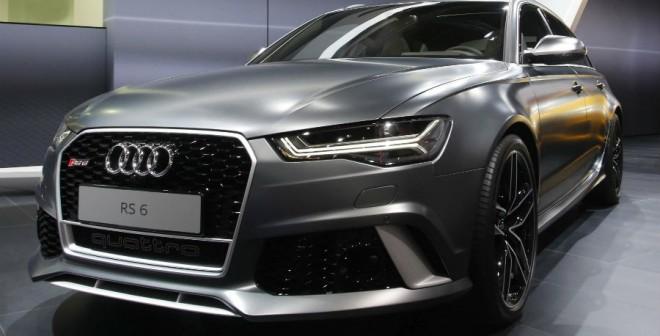 Audi RS 6 Avant, familiar y deportivo todo en uno.
