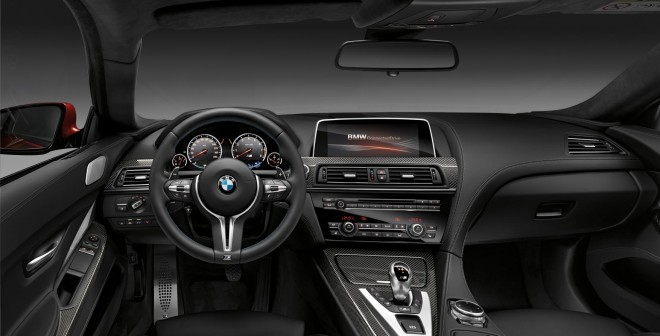 El BMW M6 combina a la perfección elegancia y deportividad en su interior.