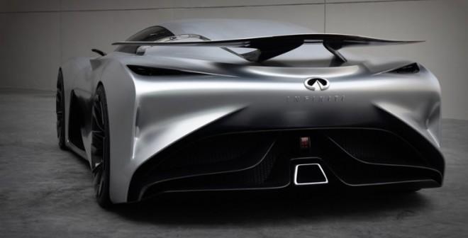 Las formas de la zaga del Infiniti GT Vision Concept son sencillamente espectaculares.