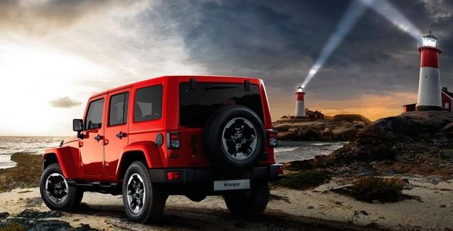 Jeep Wrangler X Edition Salón de Barcelona 2015