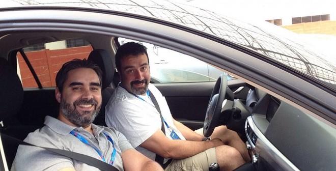 Mazda y Autocasion.com ganan categoría SUV del ALD Ecomotion Tour 2015, Rubén Fidalgo
