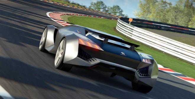 El Peugeot Vision Gran Turismo tiene un motor V6 de 3,2 litros y 875 CV.