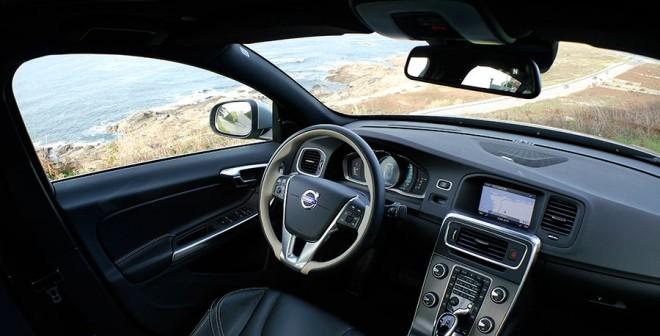 Prueba Volvo S60 D5 2013, Baiona, Rubén Fidalgo