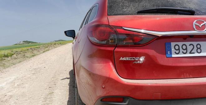 Prueba completa del nuevo Mazda6  SW 175 CV diésel 4WD 2015, Mota del Marqués, Rubén Fidalgo