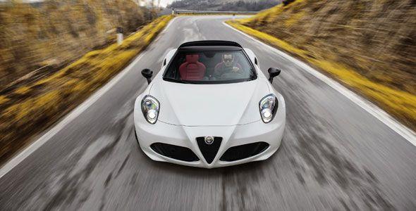 Alfa Romeo 4C Spider, la joya italiana rumbo a Barcelona 2015