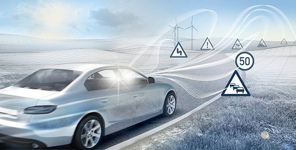El coche inteligente de Bosch en el Salón de Barcelona 2015