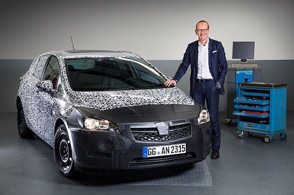 El nuevo Opel Astra 2016 se presentará en el Salón de Frankfurt