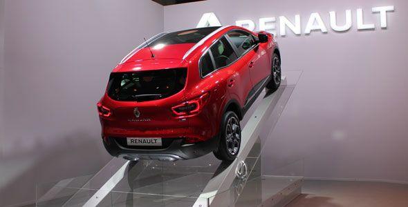 El Renault Kadjar y Zoe en el Salón de Barcelona 2015