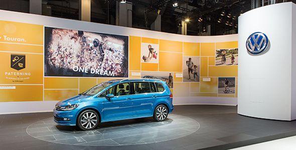 Los nuevos VW Touran, Passat GTE y Passat Alltrack en Barcelona 2015