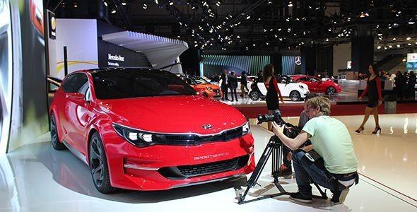 El Kia Sportspace Concept sorprende en el Salón de Barcelona 2015