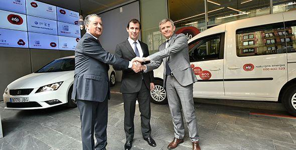 EDP, Seat y VW-Audi España fomentan el gas GNC