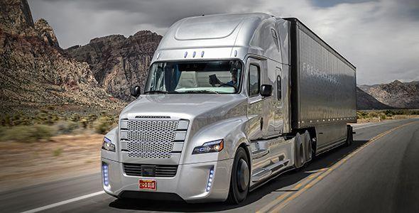 Freightliner Inspiration, el camión que conduce solo