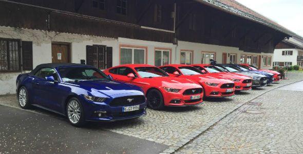 Ford Mustang, primera prueba