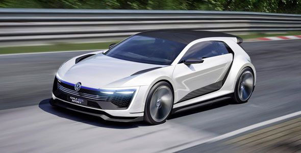 VW Golf GTE Sport, el supedeportivo híbrido de 400 CV