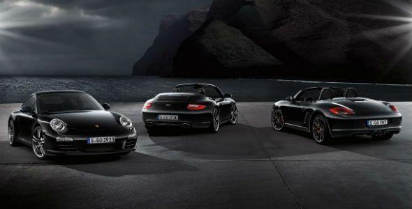 Porsche Black Edition, para el Boxster y el 911 Carrera