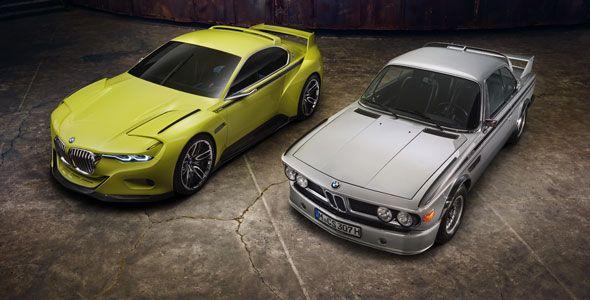 BMW 3.0 CSL Hommage, la reedición de un icono