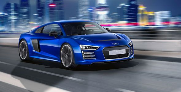 Desvelado un Audi R8 e-tron con funciones de conducción pilotada