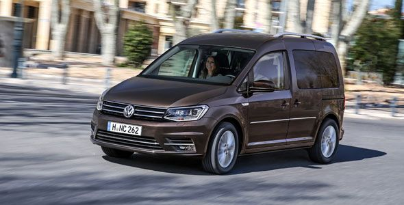 Nuevo Volkswagen Caddy, a partir de 16.430 euros