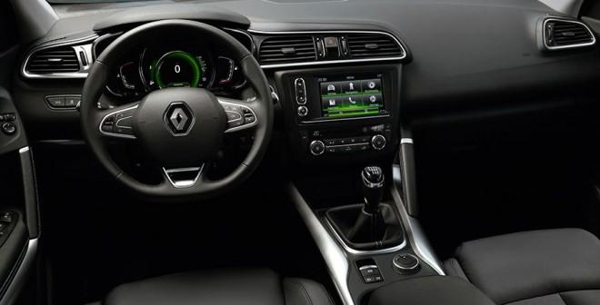Presentación y prueba del nuevo Renault Kadjar 2015 interior