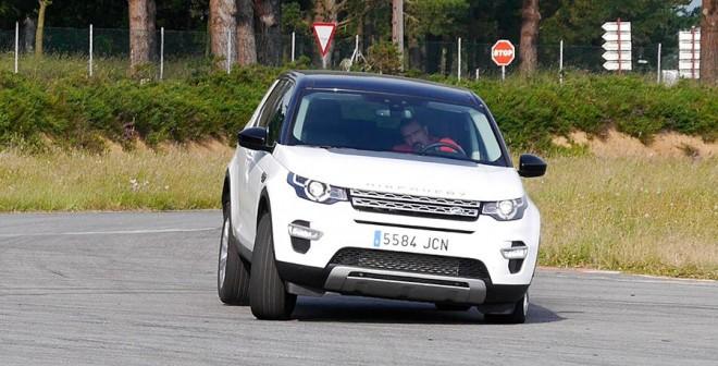 Prueba Land Rover Discovery Sport 2015, A Pastoriza, Rubén Fidalgo