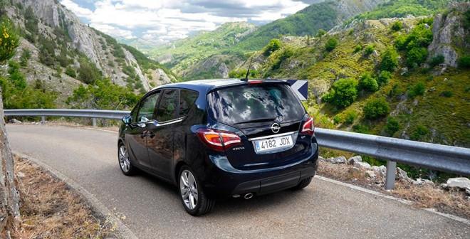 Prueba Opel Meriva CDTi 136CV 2015, Gordón, Rubén Fidalgo