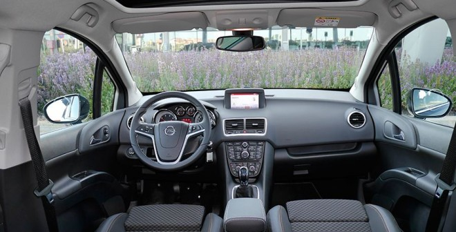 Prueba Opel Meriva CDTi 136CV 2015, interior, Rubén Fidalgo