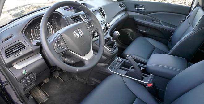 Prueba del Honda CR-V 1.6 i-DTEC 160 CV 4x4 2015, interior, Rubén Fidalgo