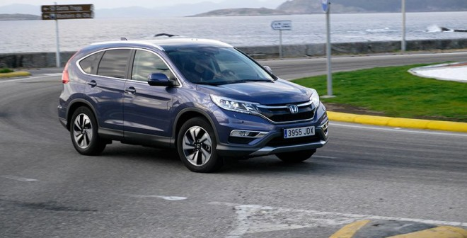 Prueba del Honda CR-V 1.6 i-DTEC 160 CV 4x4 2015, Baiona, Rubén Fidalgo