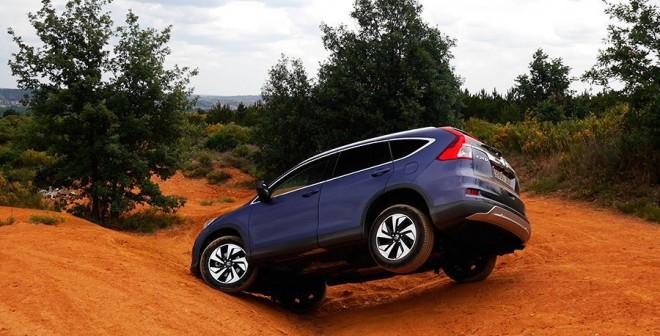 Prueba del Honda CR-V 1.6 i-DTEC 160 CV 4x4 2015, Villabalter, Rubén Fidalgo
