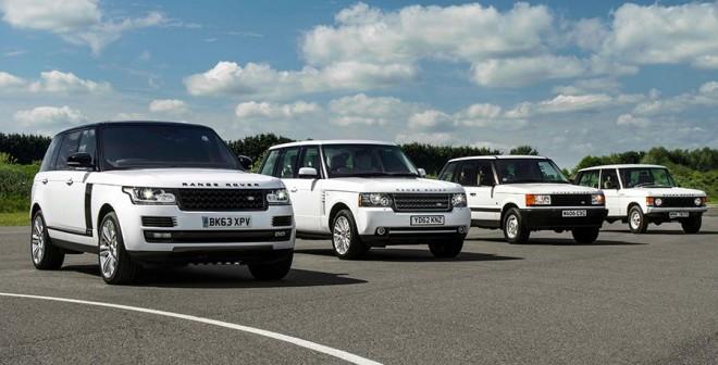 Range Rover 45 aniversario 2015