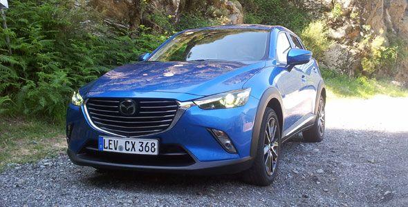 Presentación y prueba: nuevo Mazda CX-3