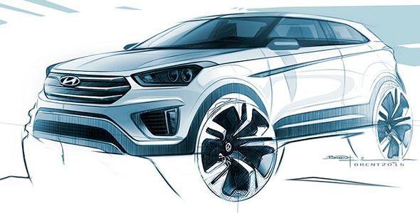 Primera imagen del nuevo Hyundai Creta