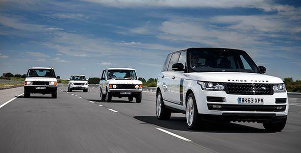El Range Rover celebra su 45 aniversario