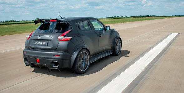 Nissan Juke-R 2.0, llega el crossover más radical