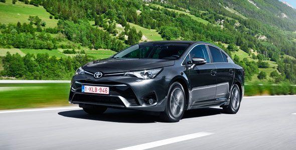 Presentación y prueba del nuevo Toyota Avensis 2015