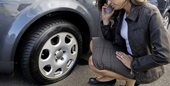 Es importante elegir siempre neumáticos fiables, no de segunda mano.